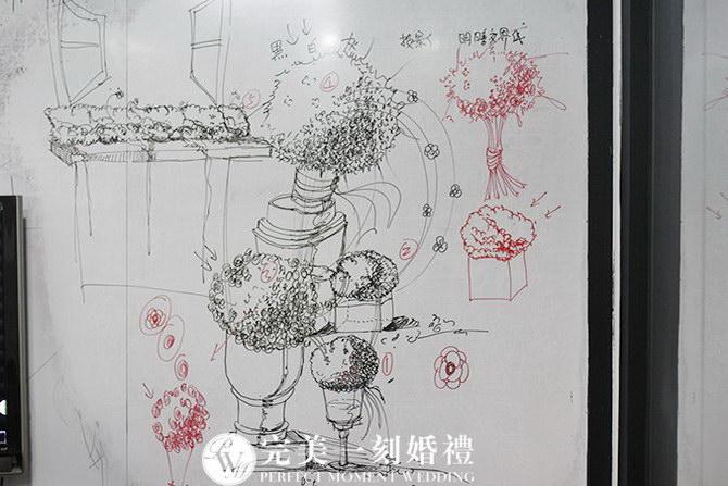 景观铅笔手绘单体
