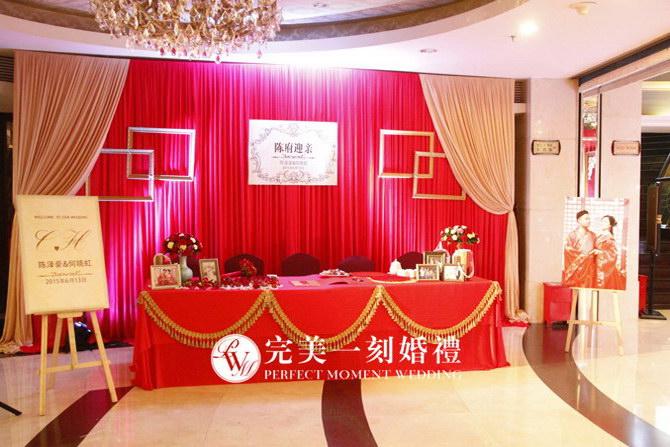 欧式水晶灯,欧式软包,镂空欧式元素纹理)         婚礼仪式亭承载着